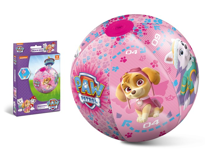 16658 - PAW PATROL GIRL BEACH BALL