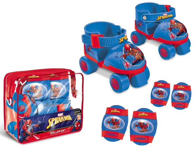 18390 - SPIDER-MAN ROLLER SKATES SET