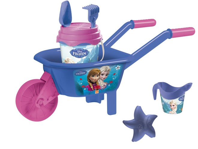 28283 - FROZEN WHEELBARROW SET