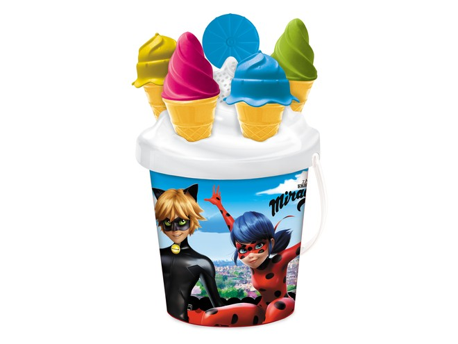 28482 - MIRACULOUS ICE CREAM BUCKET SET